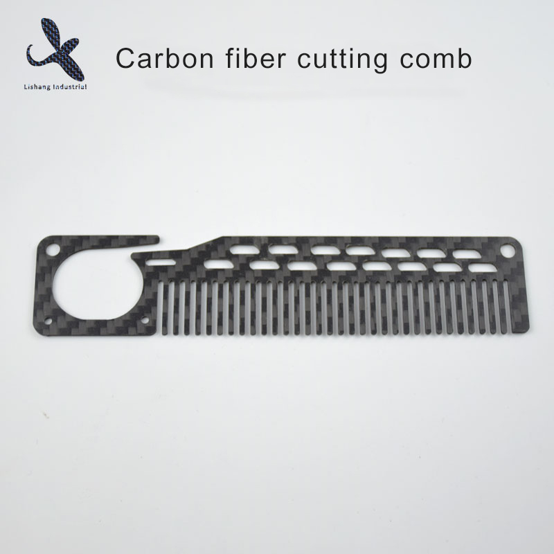 Carbon fiber cutting comb