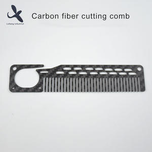 High quality Custom OEM Carbon fiber cutting comb  manufacturer