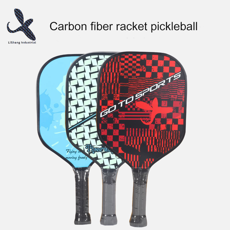 Pickleball en fibre de carbone