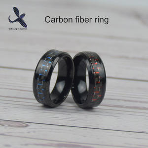 carbon fiber ring carbon fiber diamond ring.