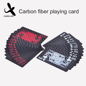 High quality carbon fiber poker cards design manufacturer