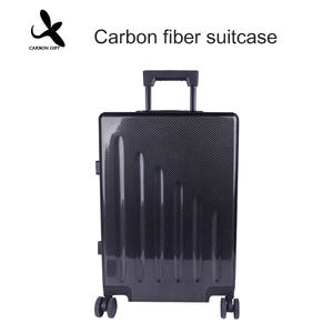 High quality Custom OEM Carbon fiber suitcase manufacturer