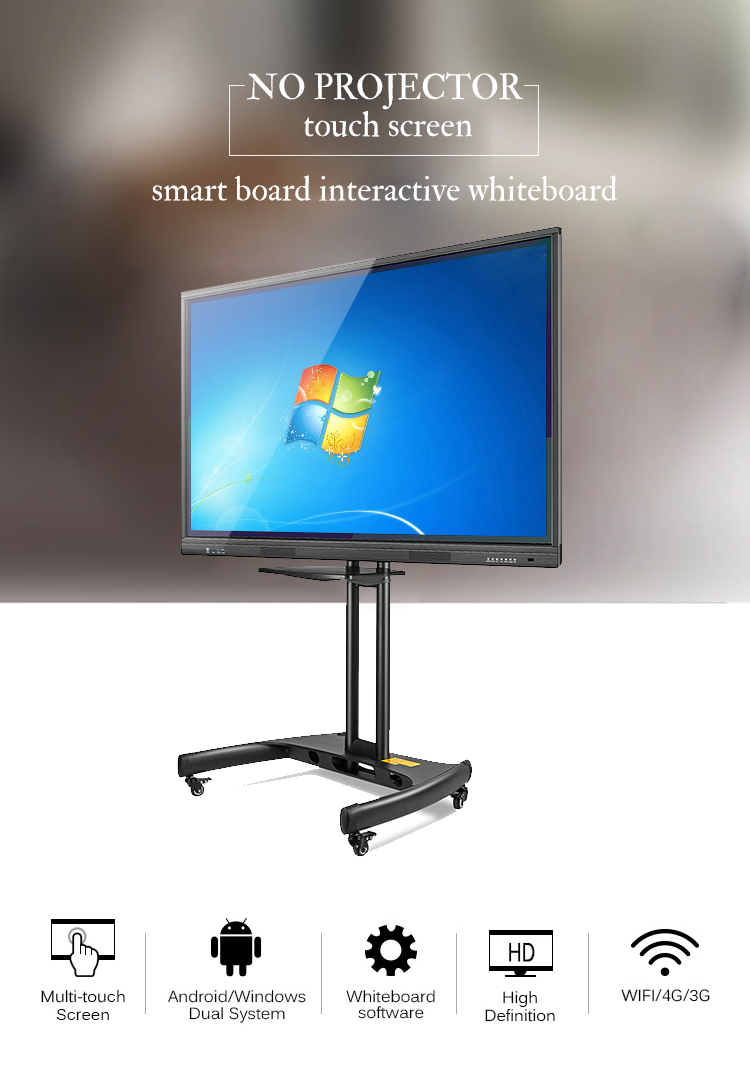 customized High quality ip board interactive whiteboard