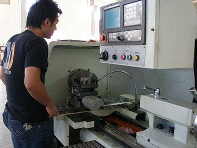 Lathing machining