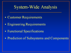 Subsystem Dissection Analysis