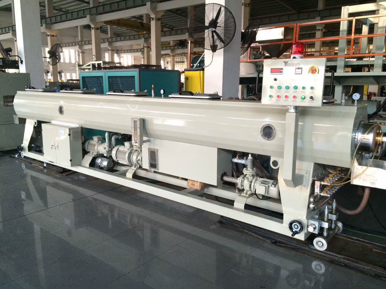 PE PPR PP pipe machine