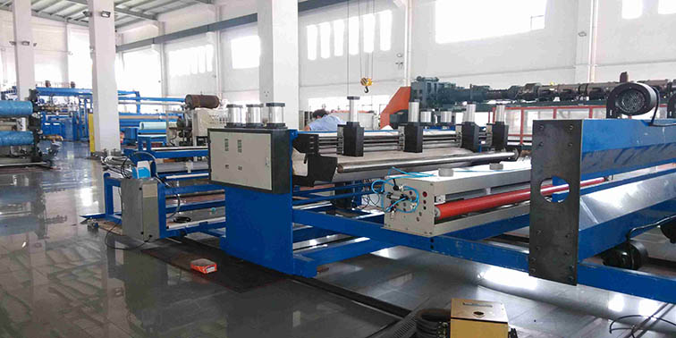 PP hollow flute sheet extrusion machine 3