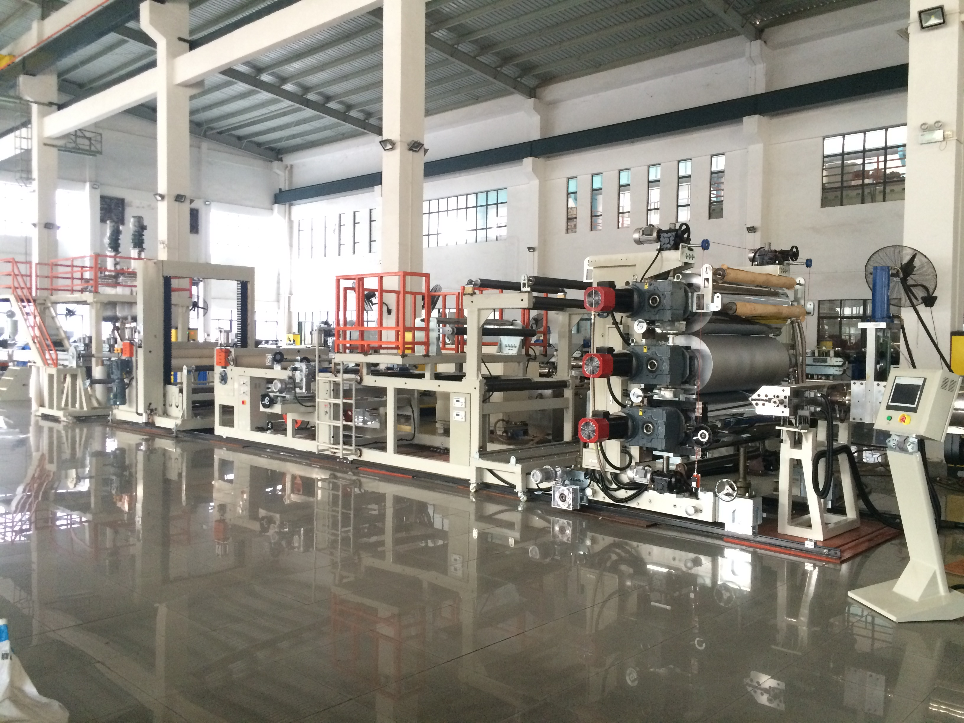 PP PE PS PET PC ABS Plastic Sheet Extrusion Machine 1