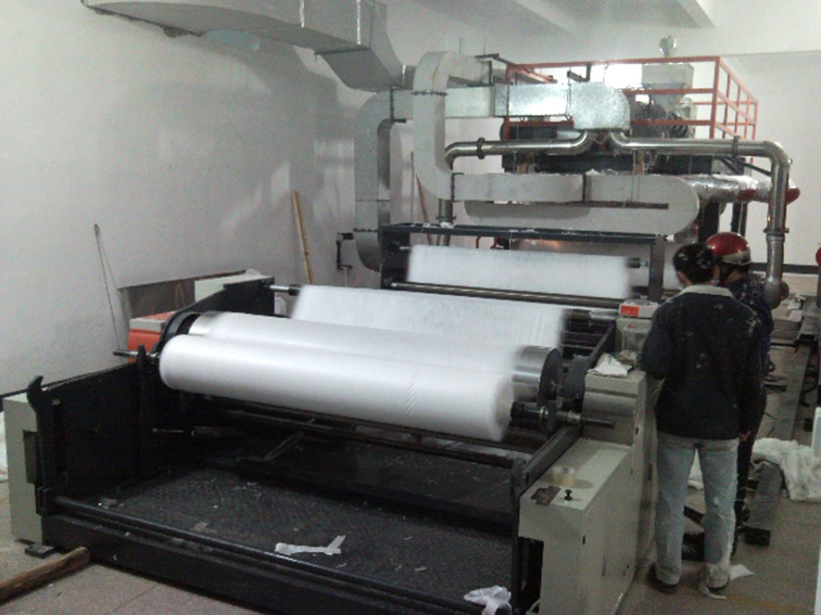Melt blow PP nonwoven fabric extruder extrusion machine 1
