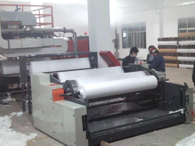 Melt blow PP nonwoven fabric extruder extrusion machine 2