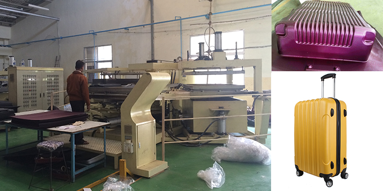 ABS PC sheet machine for making trolley luggagessuitcasecabin bag