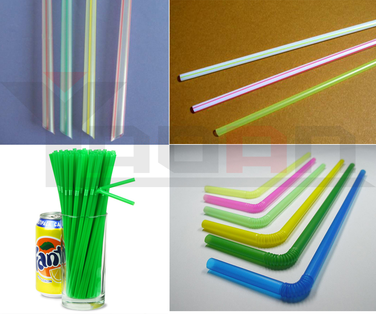 High speed plastic PP PLA Drinking Straw Making Machine