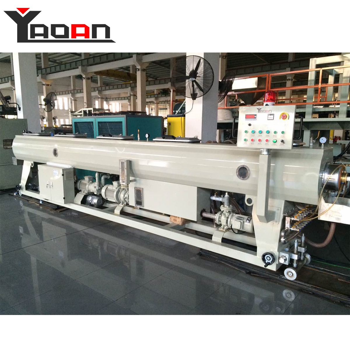 High output hot and cold water supply high pressure PPR pipe machine
