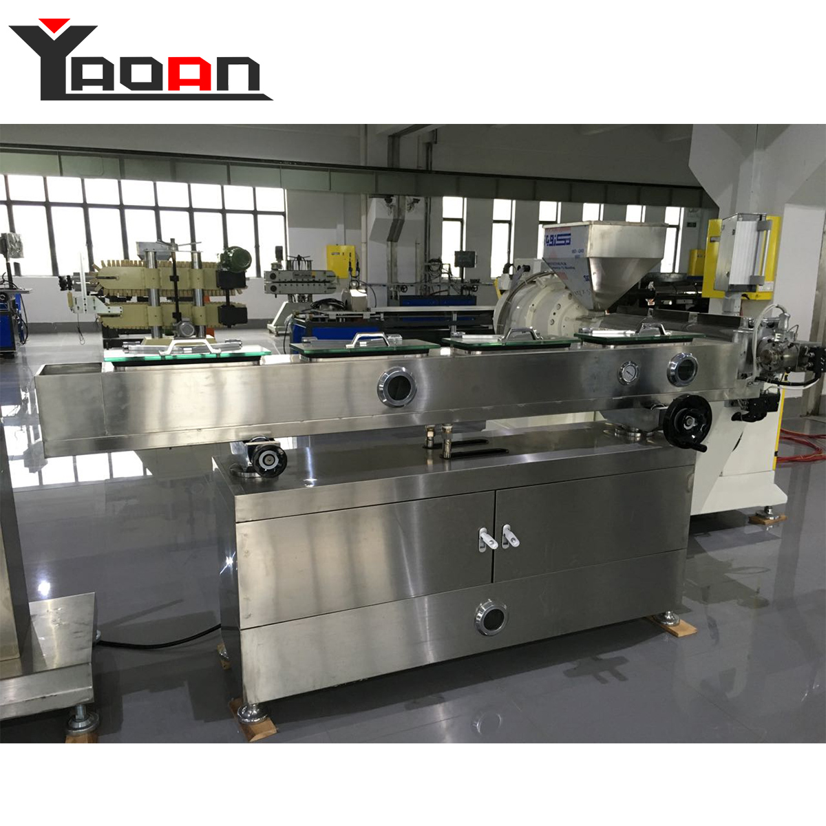 AF-45/55/65 high precise Silicon Urinary Catheter Extrusion Line