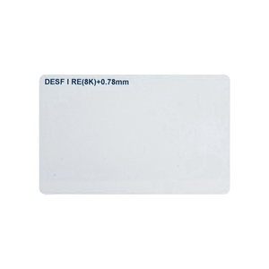 wholesale MF Desfire 8K Card|13.56mhz rfid card factory
