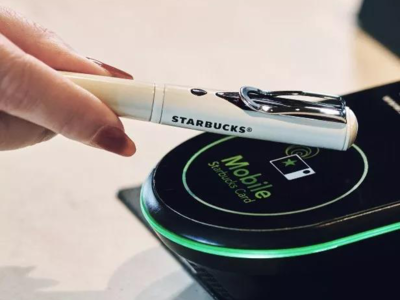 Starbucks Japan Introduced the Built-in NFC Pen, Can Support NFC Card Payment