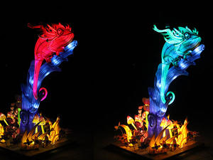 Outdoor chinese lanterns Sculpture lanterns