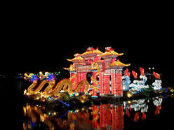 Long Chinese Style Dragon Lantern festival Decorat
