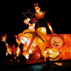 lantern ceremony-Snow White