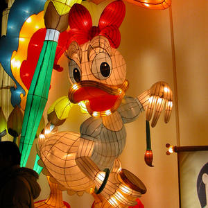Led Chinese Lantern Lights-Mickey Mouse-Minnie