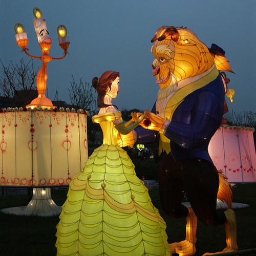 large lanterns-Fairy tale series-Beauty and the Beast