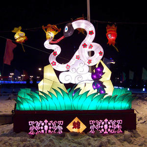 colourful chinese lanterns-Chinese Zodiac-snake