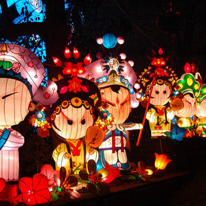 Chinese New Year Lanterns-Quintessence-Peking Opera Characters