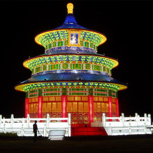 chinese style lanterns-Chinese Architecture-Temple