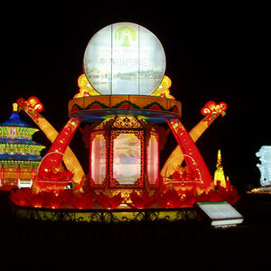 Chinese Lantern Lights- Humanistic Style-Promotion Of The Scenic Spot
