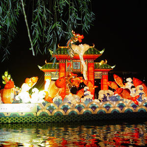 chinese new year lanterns-Carp