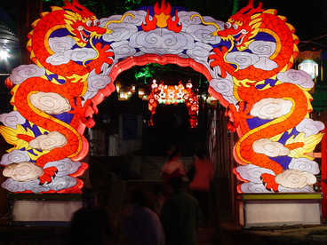 chinese new year lantern festival-Chinese dragon