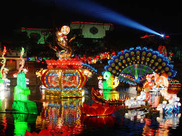 chinese light lanterns-Flower,Dragon,Carp