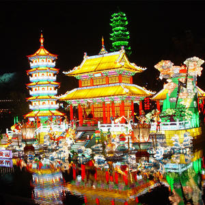 Outdoor Chinese Lanterns-Chinese Ancient Architecture