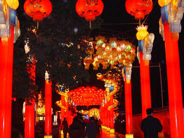 china lights-Street lighting- Chinese Style
