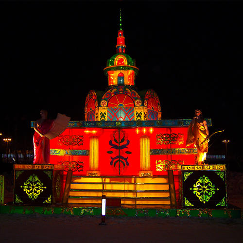chinese new year lanterns-nation,Architecture