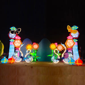 Asian Light Festival-Ein Ticketschalter.