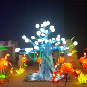Asian Lanterns-lantern On Land-fairy Tale World -The Fairy Tree
