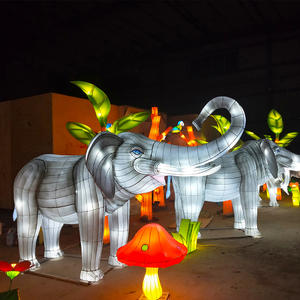 Chinese Lantern Decorations-Elephant