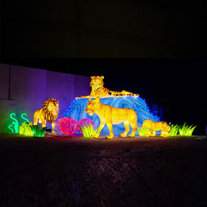Lantern Types-lantern On Land-Shining Lion