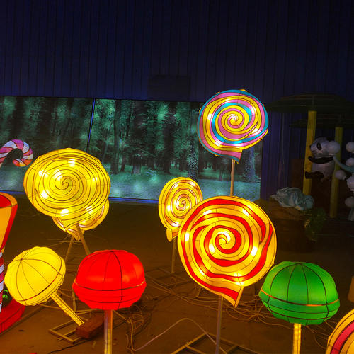 chinese lantern art and craft-All kinds of candy