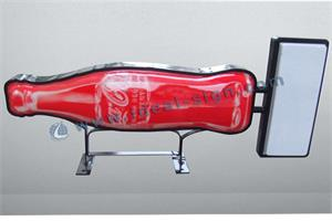 bottle shaped vacuum forming light sign