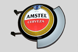 Amstel Custom Vacuum Formed Sign