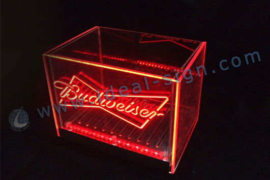 led ice bucket for bar