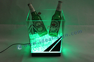 LED ice tub for parties