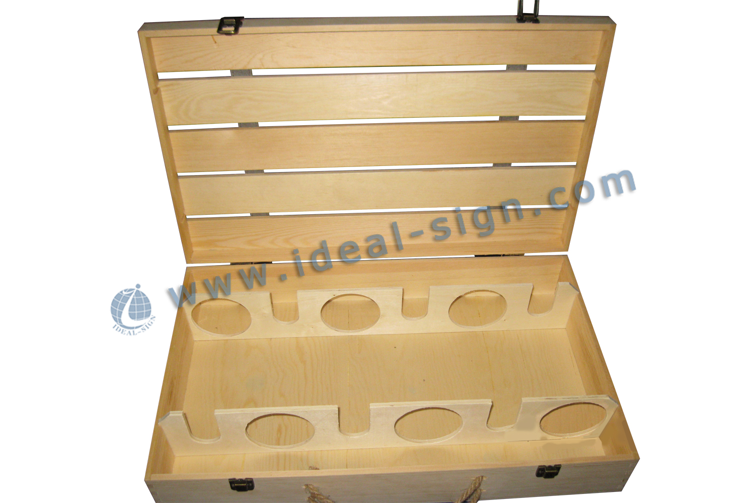 Netural Paulownia Wooden Wine Box