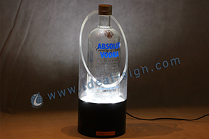 display liquor bottle glorifier