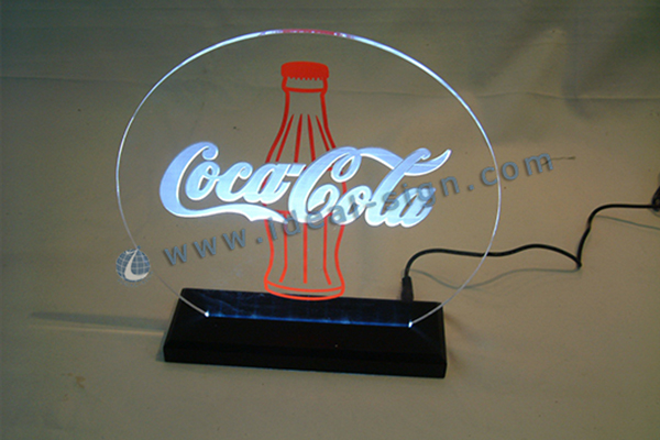 Coca Cola thin light sign