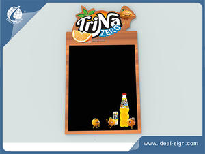 China exporter for advertising writing board menu chalkboard sign