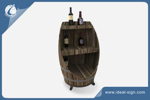 Custom home decor & Bar Wooden Wine Racks and wooden Liquor Racks supplier
