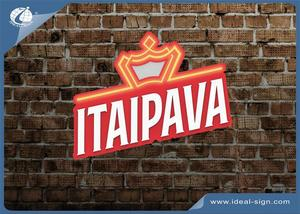 ITAIPAVA POSM beer slim light box illuminated wall mounted bar signs